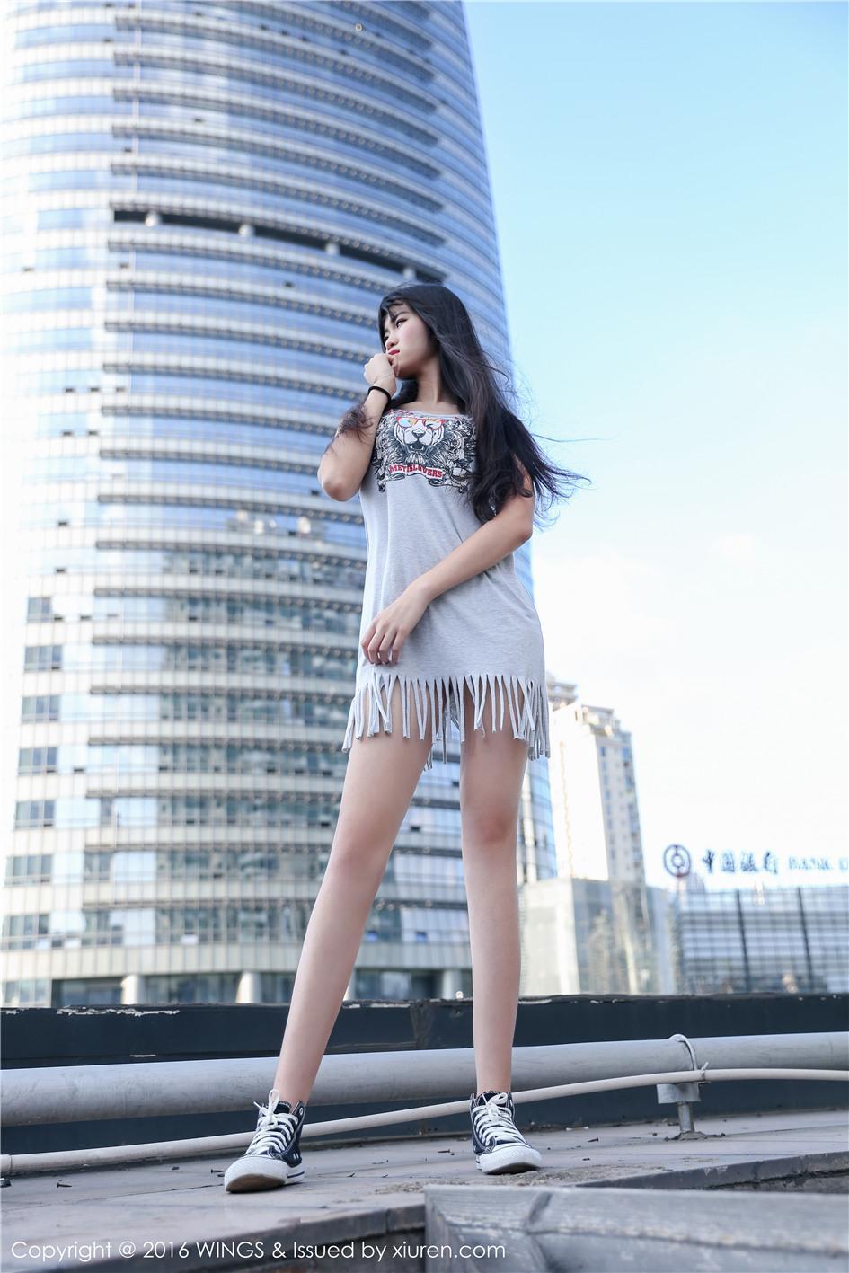 【影私荟】【Amor千冶】 白皙长腿模特Amor千冶高清写真美女图片 VOL.018【26P】 性感内衣