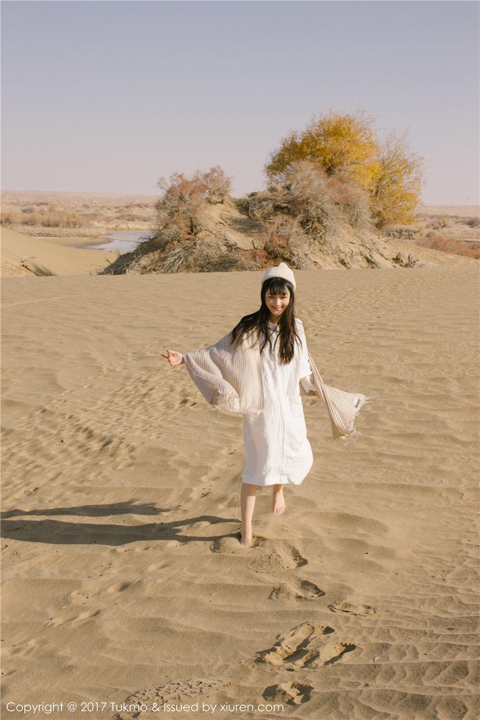 【兔几盟】【之应】 90后可爱清新女生之应农村户外写真照片 第007期【40P】 写真集