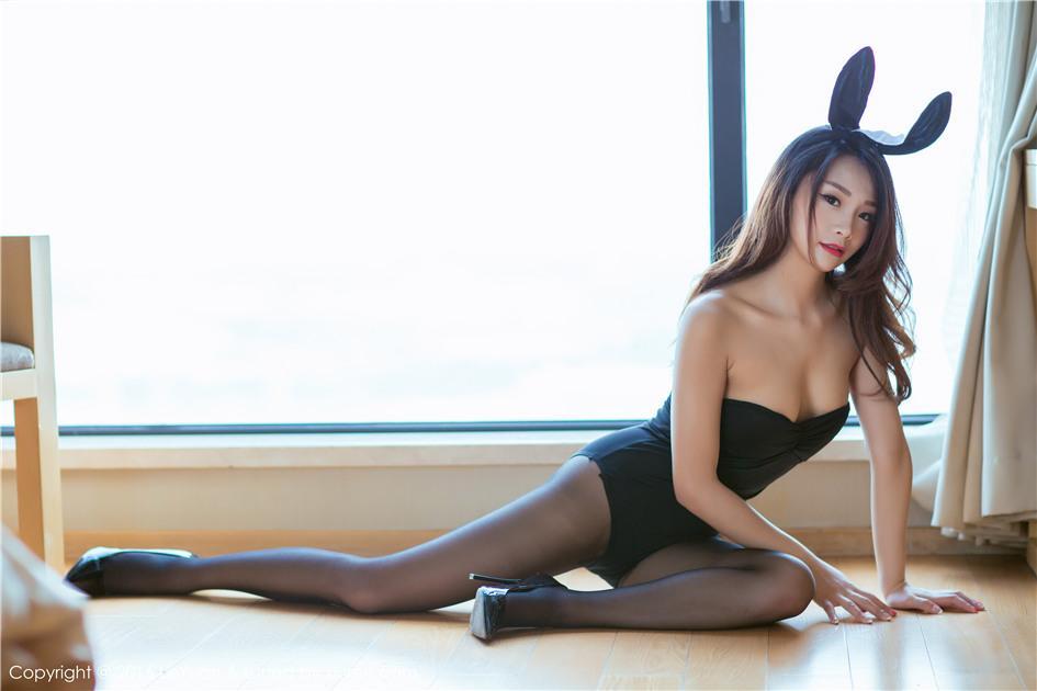 【星乐园】【Tina】 劲爆黑丝兔女郎Tina高跟鞋翘臀写真 VOL.016【25P】 制服