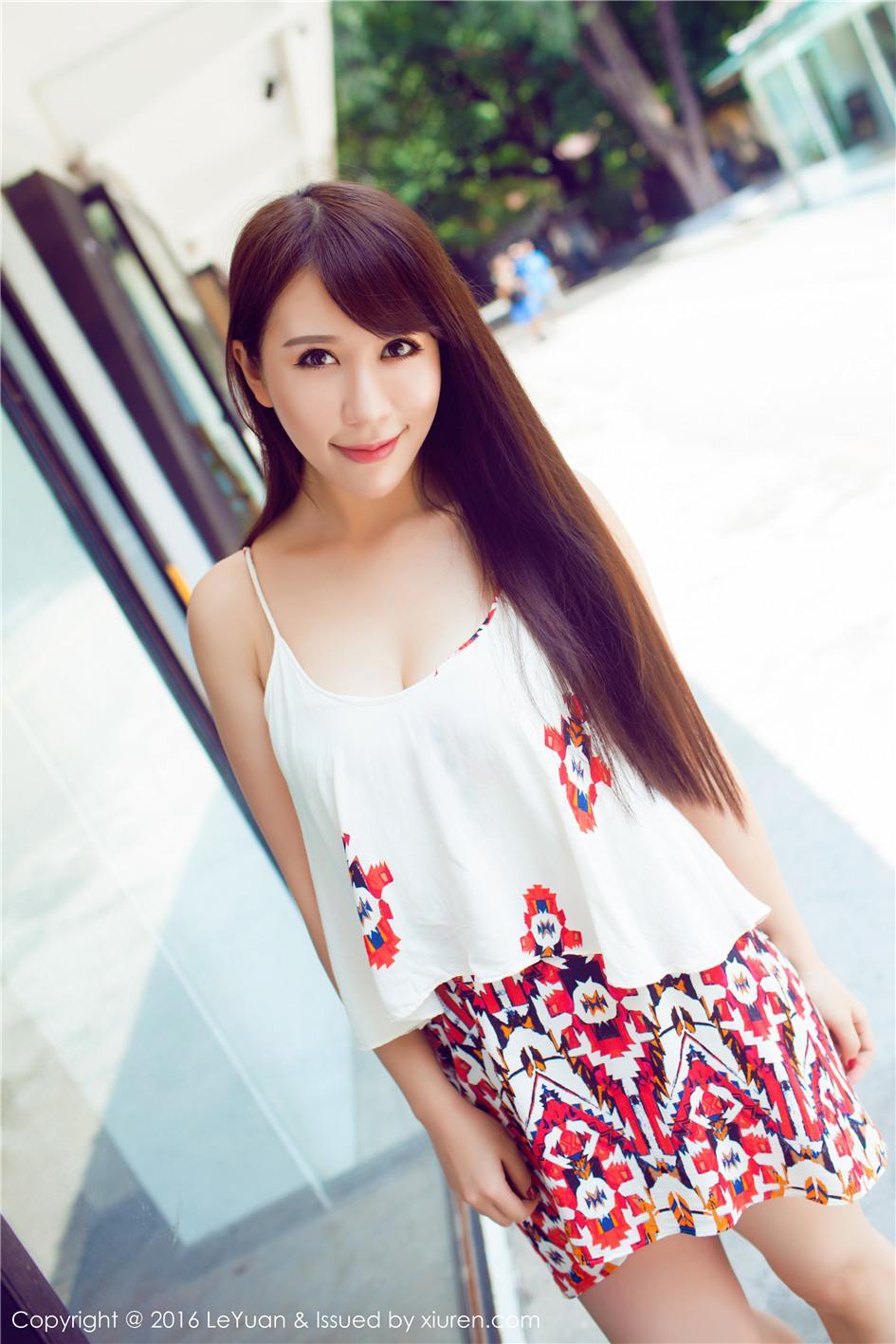 【星乐园 】【艾惟】 清纯甜美女孩艾惟迷人双腿生活照写真 VOL.020【23P】 写真集