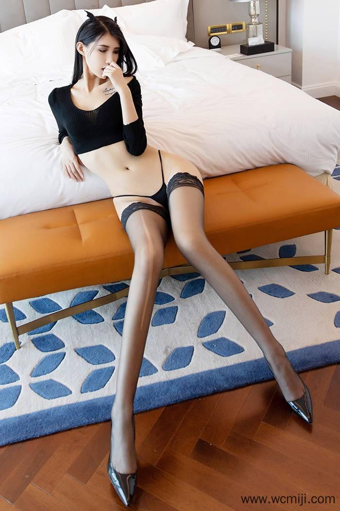 【性感美女】【葛征】火热身材小恶魔葛征黑丝美腿撅臀示爱饥渴被疼爱【47P】 X丝玉足