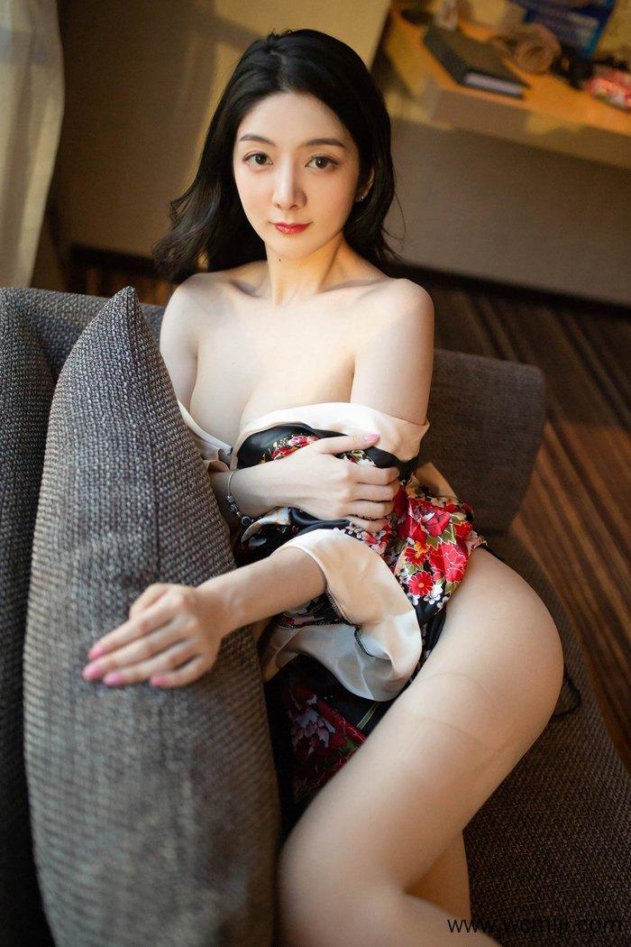 【性感美女】【小热巴】漂亮人妻小热巴和服白嫩肉欲床上捆绑令人销魂【40P】 制服