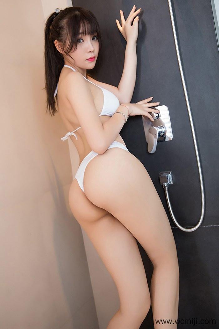 【网红】【芝芝】艺术美女芝芝寂寞难耐浴室上演湿身翘臀诱惑写真【48P】 性感内衣