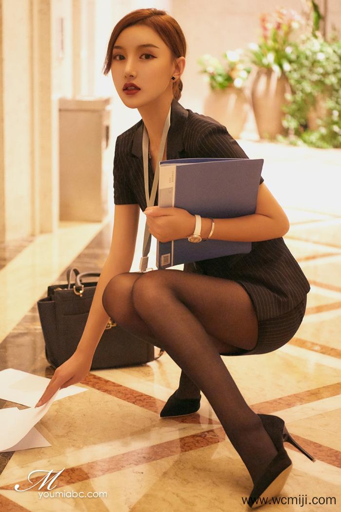 【模特】【梦baby】职业女郎M梦baby教育大家再多繁忙也得纾解压力【42P】 制服