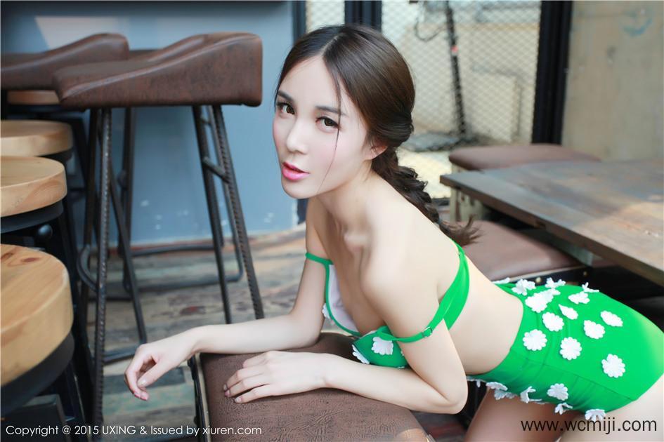 【模特】【刘美辰】嫩模Candy刘美辰斑点泳衣迷人写真VOL.033【32P】 性感内衣