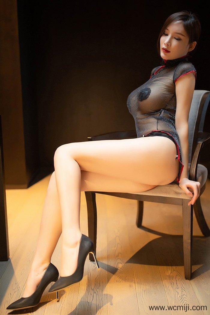 【网红】【周妍希】高挑女郎周妍希情趣透视黑丝美乳让人着迷【58P】 写真集