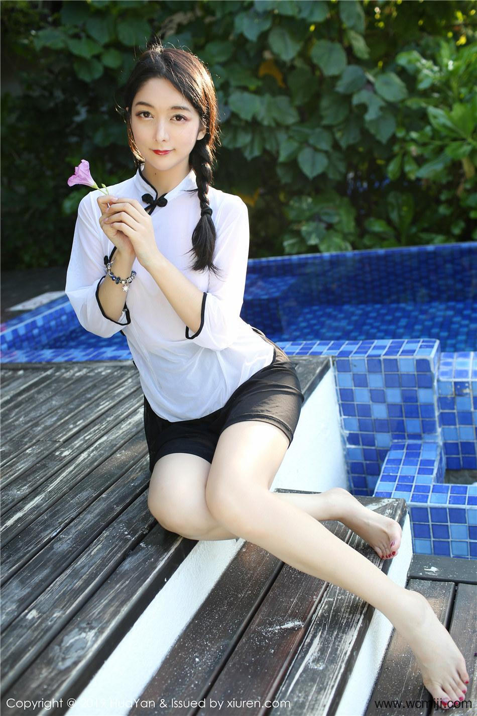 【花の颜】【Angela】小清新美女Angela性感私拍图片 Vol.065【41P】 制服