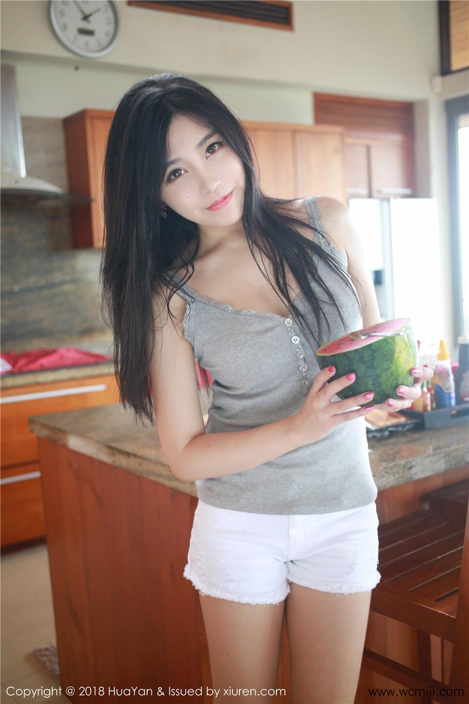 【花の颜 】【许诺】大胸极品美女许诺Sabrina Vol.053【30P】 写真集