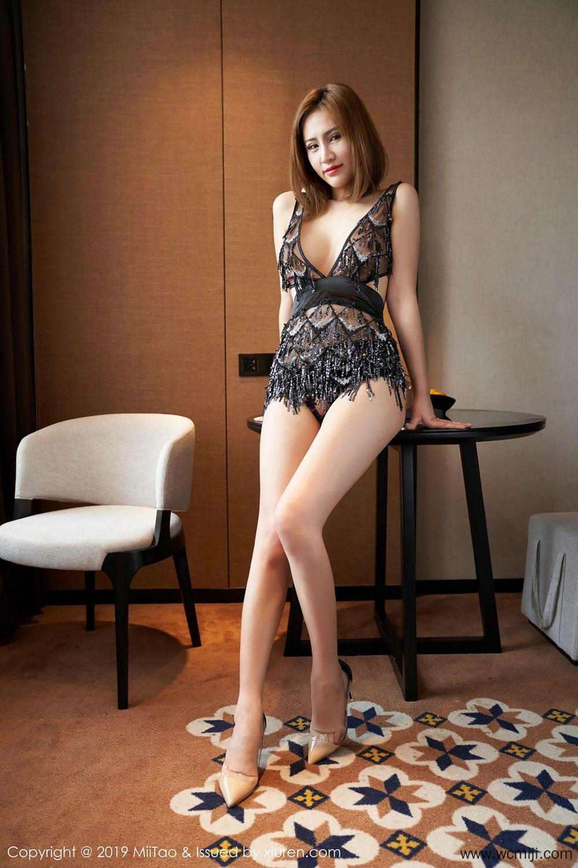 【蜜桃社】【珍妮】性感美艳珍妮Jeane高挑身材修长美腿【38P】